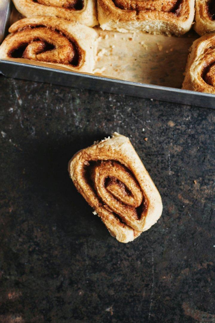 'Healthier' Cinnamon Rolls